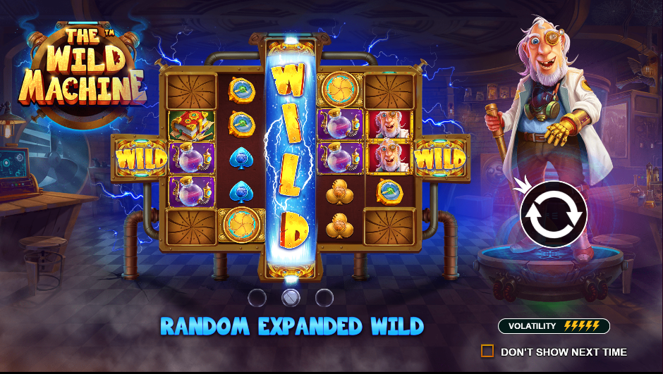 Permainan E-Games The Wild Machine